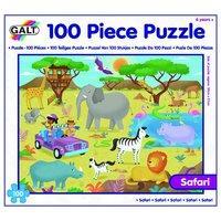 Galt Toys Safari Puzzle (100-piece, Multi-colour)