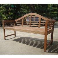 Garden Furniture World Essentials Lutyens Style Wooden Bench