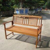 Garden Furniture World Essentials 2 Seater Wooden Bench