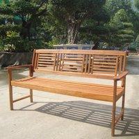 Garden Furniture World Essentials 3 Seater Wooden Bench