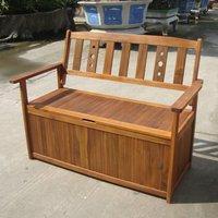 Garden Furniture World Essentials Wooden Storage Bench