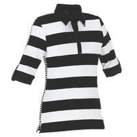 Galvin Green Mae Ladies Golf Polo Shirt Black/White
