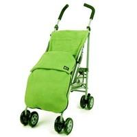 Genesis Universal Lime / Apple Green Soft Fleece Footmuff Cosytoes & Buggy Liner