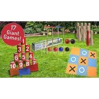 Giant Garden Games - 17 Options