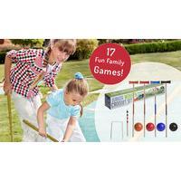 Giant Outdoor Garden Games - 17 Designs