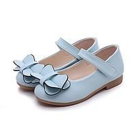 Girls\' Flats Comfort Ballerina Flower Girl Shoes Ankle Strap Summer Fall Outdoor Dress Casual Walking Bowknot Flat Heel