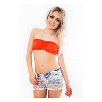 Girl Crush Bandeau Top In Orange