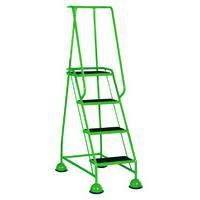 Green 4 Tread Step