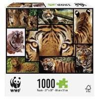 Great Gizmos WWF Tigers Puzzle 1000-Piece