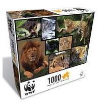 Great Gizmos WWF Wild Cats Puzzle 1000-Piece