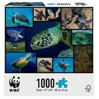 Great Gizmos WWF Marine Turtles Puzzle 1000-Piece