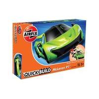 Green Airfix Quickbuild Mclaren P1 Car Model Kit
