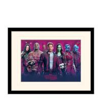 Guardians of the Galaxy Vol. 2 (Characters Vol. 2) Mounted & Framed 30 x 40cm Print