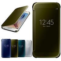 GYM Luxury Mirror Window Full Body Case for Samsung Galaxy S6 G9200