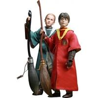 Harry & Draco Quidditch (Harry Potter) 12 Inch Figure Twin Pack