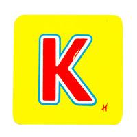 Hamleys Wooden Letter K