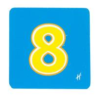 Hamleys Wooden Number 8