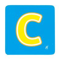 Hamleys Wooden Letter C