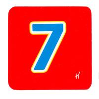 Hamleys Wooden Number 7