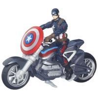 Hasbro Marvel Legends Captain America Civil War - Capitan America con moto