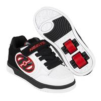 Heelys X2 Plus - White/Black/Red
