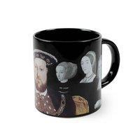 Henry VIIIs Disappearing Wives Mug