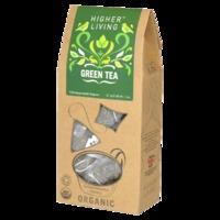 Higher Living Organic Green Tea 15 Tea Bags, Green