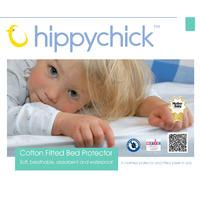 Hippychick Fitted Mattress Protector for Cot Bed 70 x 140