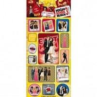 High School Musical 3 - Mini 3d Lenticular Sticker - Sticker Style