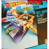 Hot Wheels City Deluxe Play Set - Sky-base Blast (cdm29)