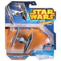 Hot Wheels Star Wars: Starship Blue Tie Fighter