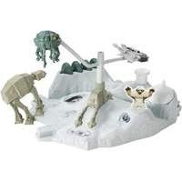Hot Wheels Star Wars The Force Awakens Space Station - Hoth Echo Base Battle