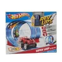 Hot Wheels Magnetic Rev Ups Super Loop Action Set