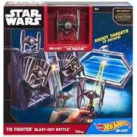 Hot Wheels Star Wars The Force Awakens Space Station - Tie Fighter Blast-Out Battle