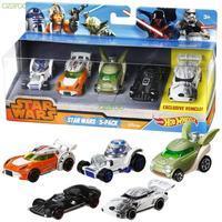 Hot Wheels Star Wars Character 5 Pack