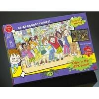 Horrid Henry - Classroom Chaos, Glow in The Dark 250pc Jigsaw Puzzle