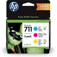 HP Suppl HP 711 28ml 3pk CMY