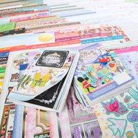 Hunkydory Full Collections Giveaway Bundle with 2 Free Topper Collections, 2 Luxury Card Inserts Collection and 1 Little Book 382795