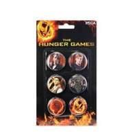 Hunger Games 6piece Pin Set Cast