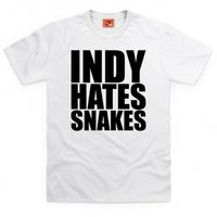 Inspired by Indiana Jones T Shirt - Snakes