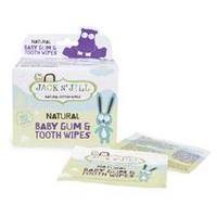Jack N Jill Natural Baby Gum & Tooth Wipes 25 sachet