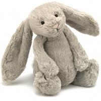 Jellycat Medium Bashful Bunny 31cm, Beige, 31cm
