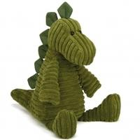 Jellycat Cordy Roy Animal Soft Toy 41cm, Dino, 41cm