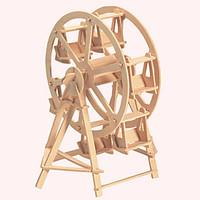 Jigsaw Puzzles Wooden Puzzles Building Blocks DIY Toys The Ferris Wheel 1 Wood Ivory Model Building Toy