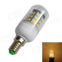 JIAWEN E14 4W 500lm 24-SMD 5730 Warm White Light Corn Lamp Bulb