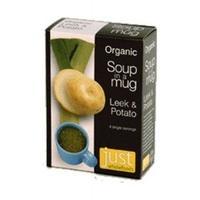 Just Natural Org Soup Leek & Potato 4 x 17g (1 x 4 x 17g)
