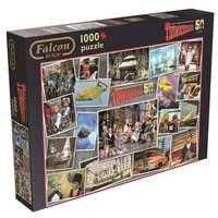 Jumbo Games Falcon de Luxe Thunderbirds 50th Anniversary Jigsaw Puzzle (1000-Piece)