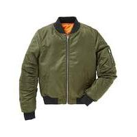 KD Girls Khaki Bomber Jacket