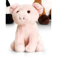 Keel Toys British Wildlife Mini Animals - 12cm Pig