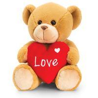 Keel Toys Honey Barney Bear With Heart - 30cm